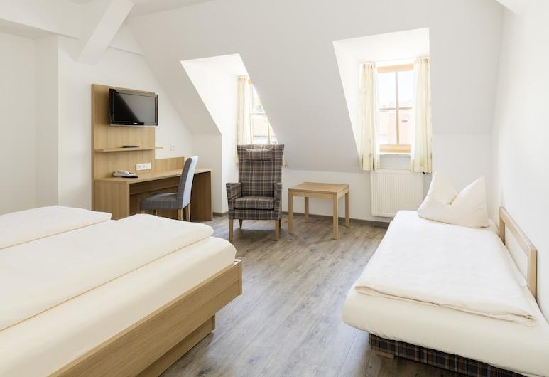 Gasthof Lerner, Freising, Pokój dla 3 osób, Pokój