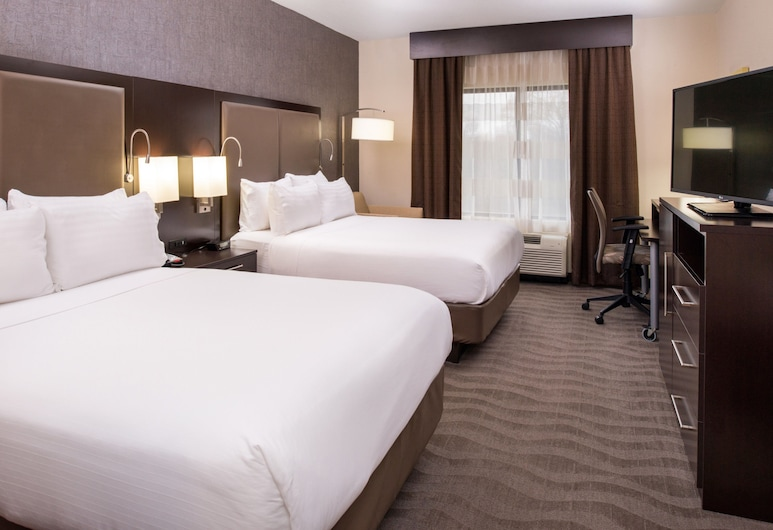 Holiday Inn Express Hotel & Suites Monroe, Monroe, Habitación, 2 camas Queen size, para no fumadores, Habitación