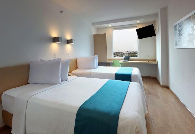 萬瓜達拉哈拉塔帕提歐酒店, 特拉克帕克, 高級客房, 2 張標準雙人床, 客房