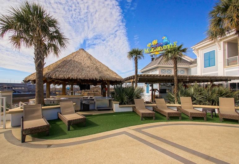 Margaritaville Resort Casino, Bossier City, Property Grounds