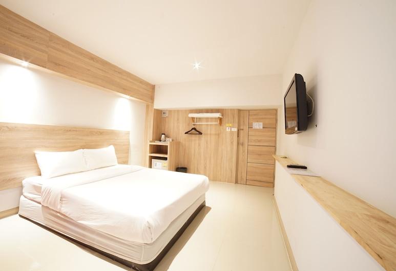 48 ヴィレ ドンムアン エアポート, バンコク, スーペリア ルーム クイーンベッド 1 台 バルコニー, 部屋
