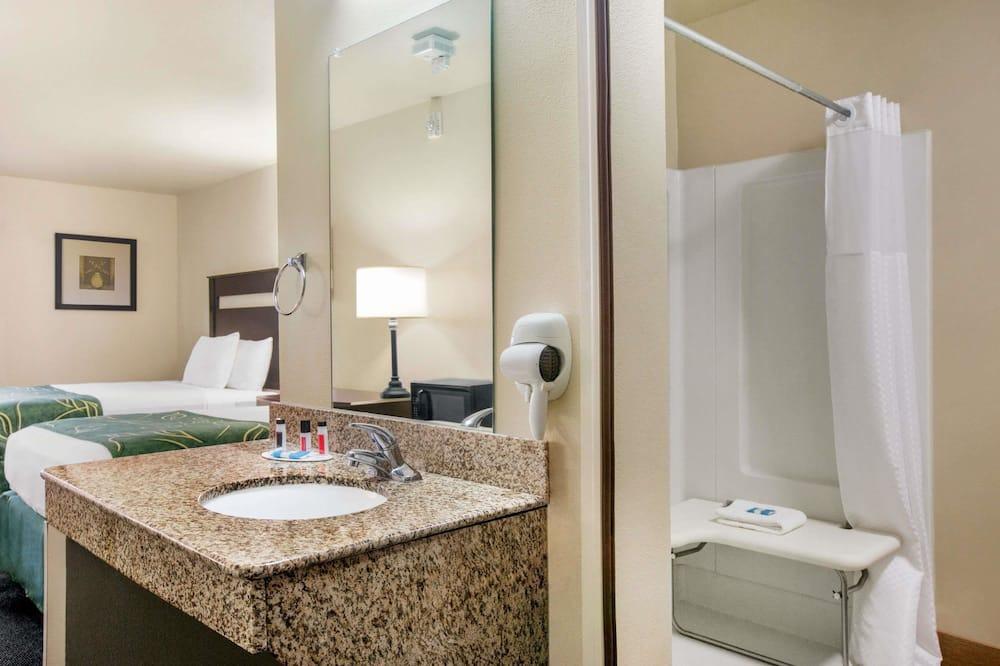 ห้องพัก, เตียงควีนไซส์ 2 เตียง, ปลอดบุหรี่ - ห้องน้ำ