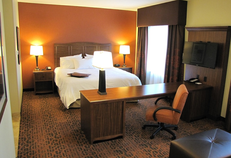 Hampton Inn & Suites Jamestown, ND, Τζέιμσταουν, Στούντιο, 1 King Κρεβάτι, Πρόσβαση για Άτομα με Αναπηρία, Μη Καπνιστών, Δωμάτιο επισκεπτών