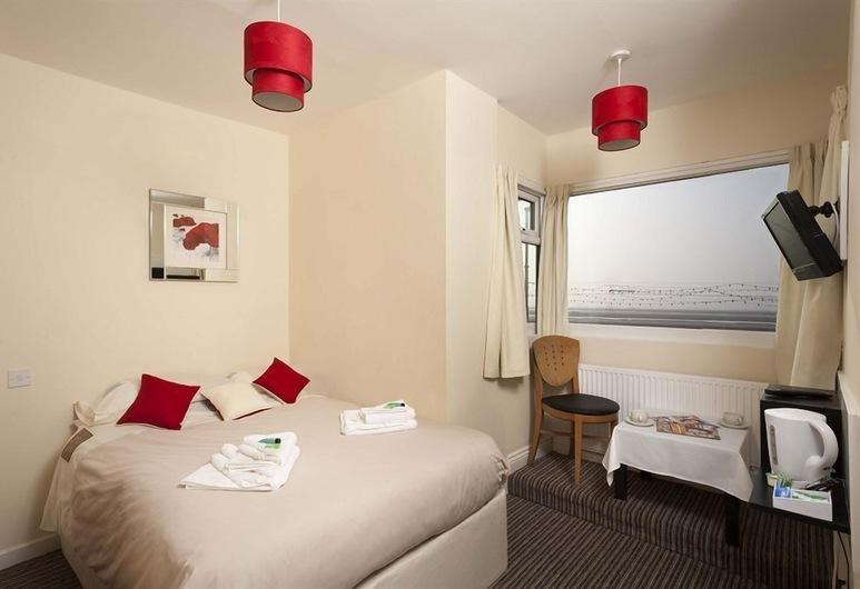 The Sea Princess Hotel, Blackpool, Doppelzimmer, Meerblick, Ausblick vom Zimmer