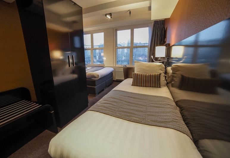 Hotel Mansion, Amsterdam, Chambre Triple, Vue depuis la chambre