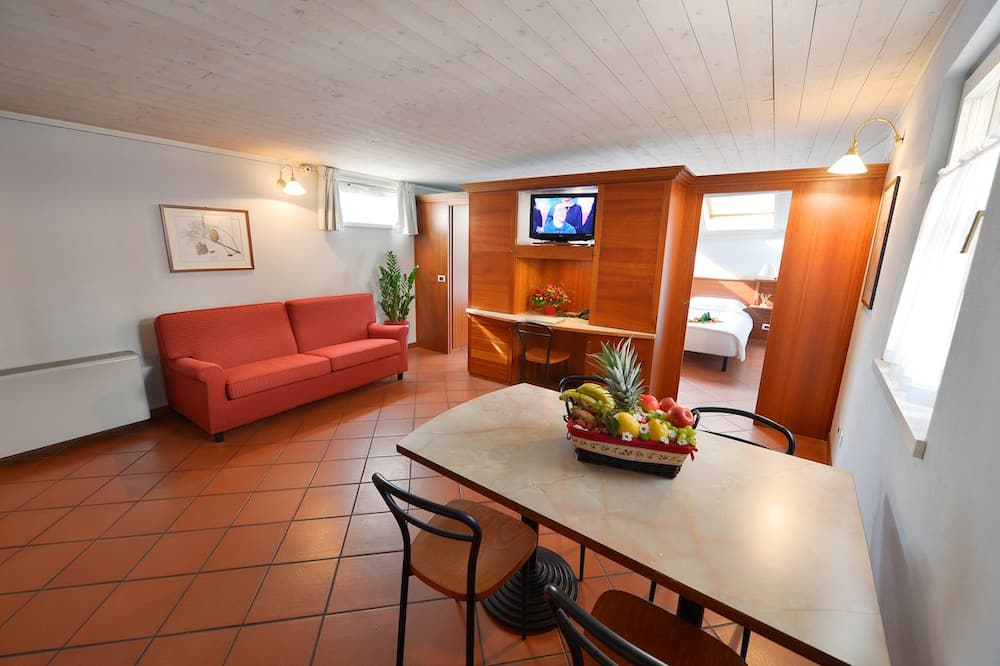 Apartmán, 1 ložnice (for four people) - Obývací prostor