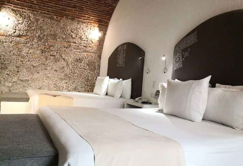 Descansería Hotel Business and Pleasure, Puebla, Superior kamer, 2 queensize bedden, Kamer