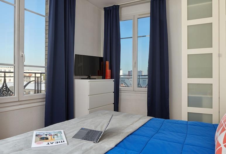 巴黎阿斯尼埃爾公寓飯店, 塞納河畔阿涅勒, 公寓, 2 張單人床 (C ), 客房