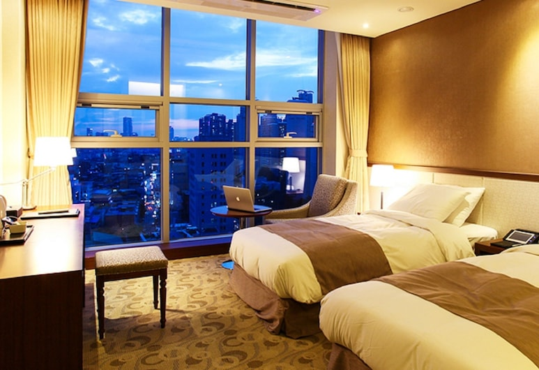 Rosana Boutique Hotel, Seoul, Twin Room, Guest Room