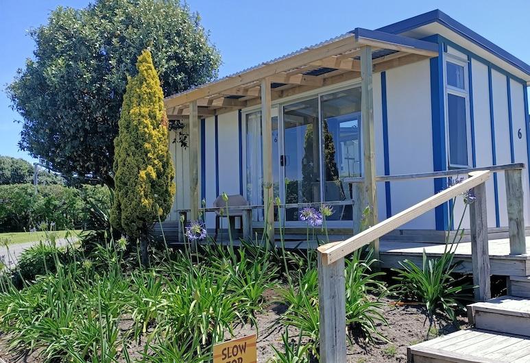 Whanganui Seaside Holiday Park, Castlecliff, Estudio Confort, 1 cama doble, Habitación