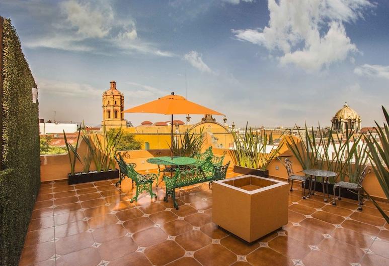 Hotel Templo Mayor, Mexiko-Stadt, Terrasse/Patio