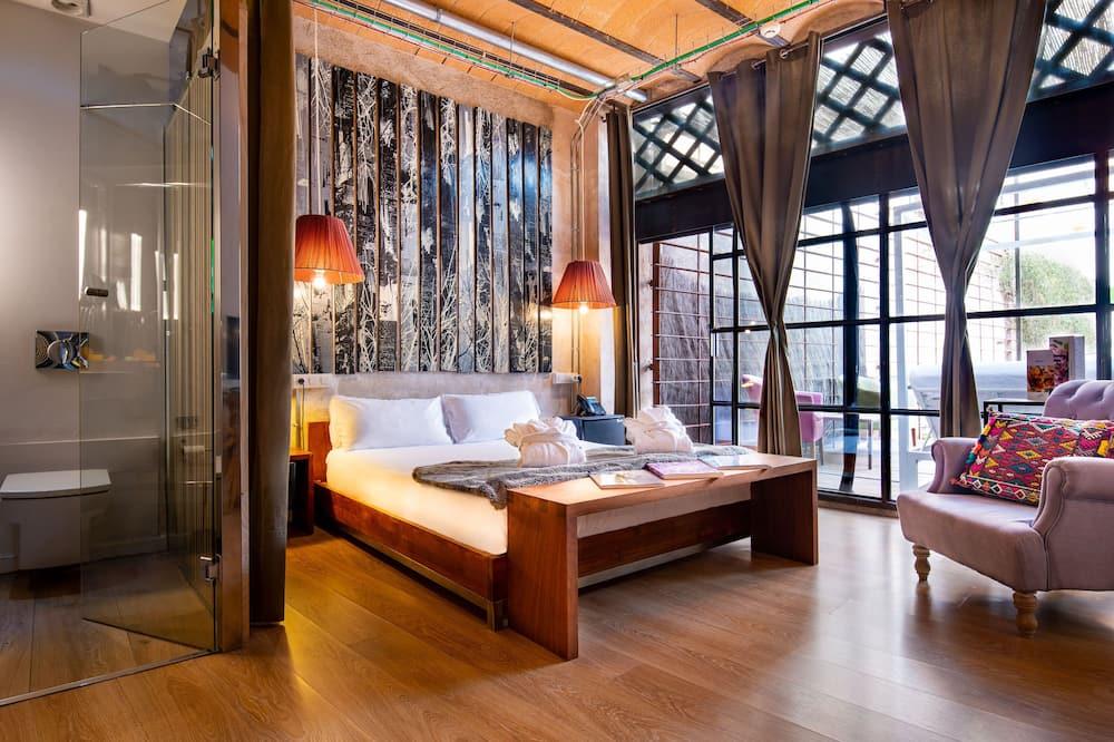 חדר פרימיום, טרסה - חדר אורחים