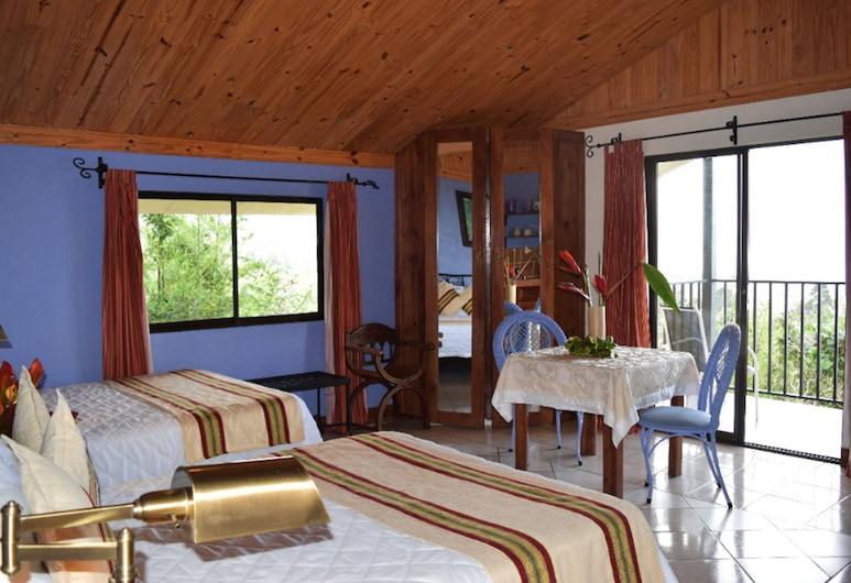 Guayabo Lodge, Santa Cruz de Turrialba, Studio Suite, 2 Katil Kelamin (Double), Pemandangan Bilik Tamu