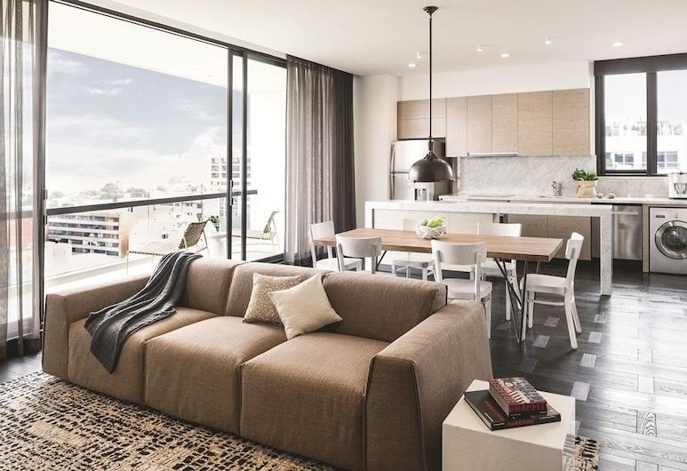 8010 Urban Living, Bogotá, Superior Apartment, 1 Bedroom, Park View, Ruang Tamu