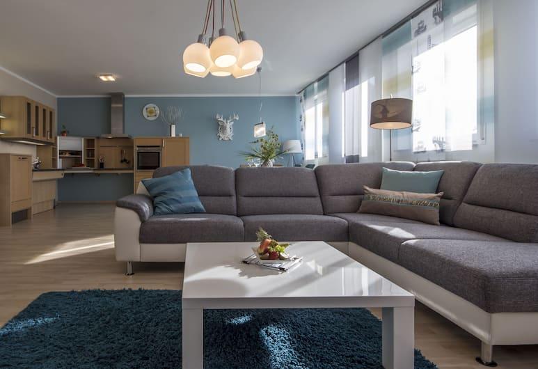 GS Hotel, Munich, Executive Studio, Living Room