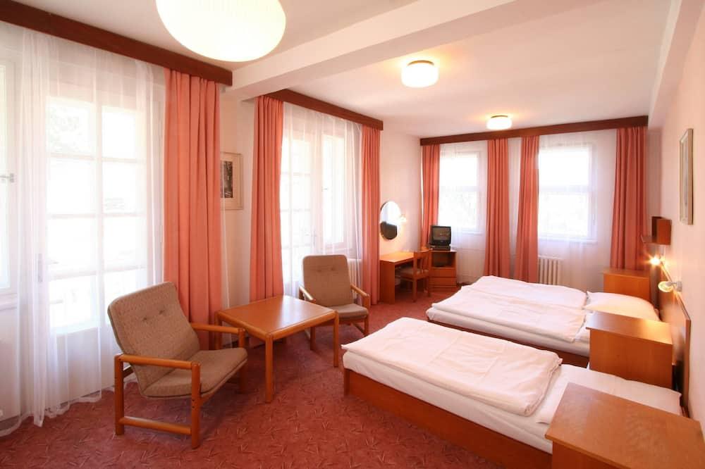 Economy Twin Room - Living Area