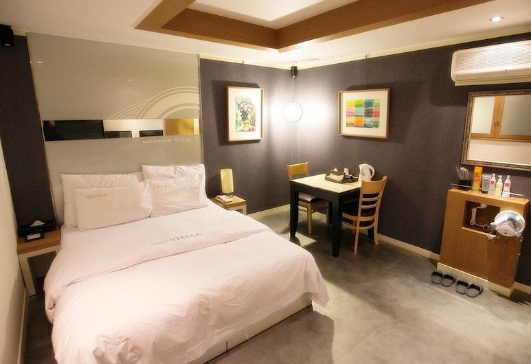 Stella Boutique Hotel, Seoul, Deluxe Double Room, Bilik Tamu