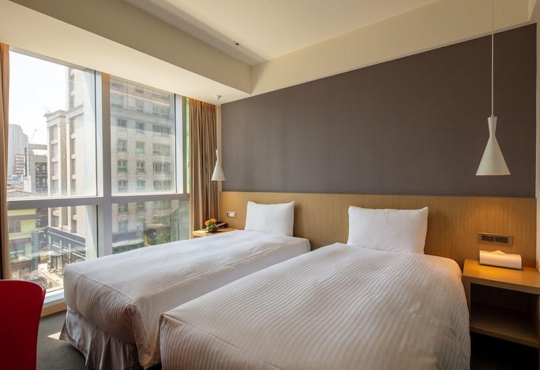 Chaiin Hotel - Dongmen, Taipei, Executive Twin Room, Guest Room