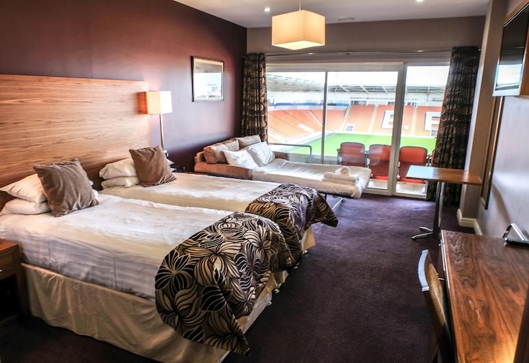 Blackpool FC Hotel, Blackpool, Executive-rum, Gästrum