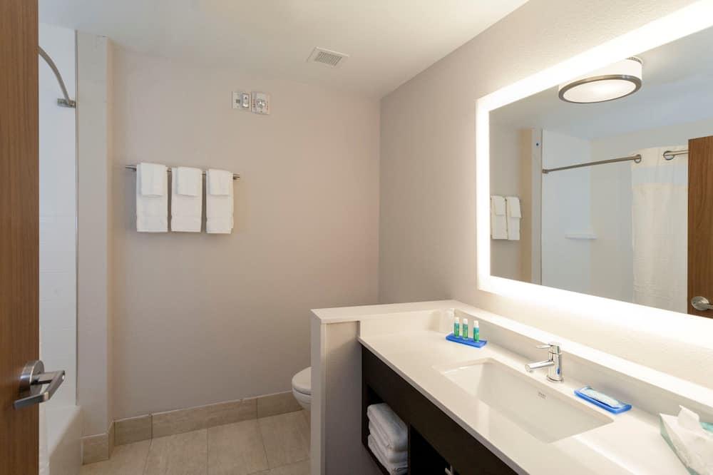 套房, 1 張特大雙人床, 無障礙 (Mobility) - 浴室