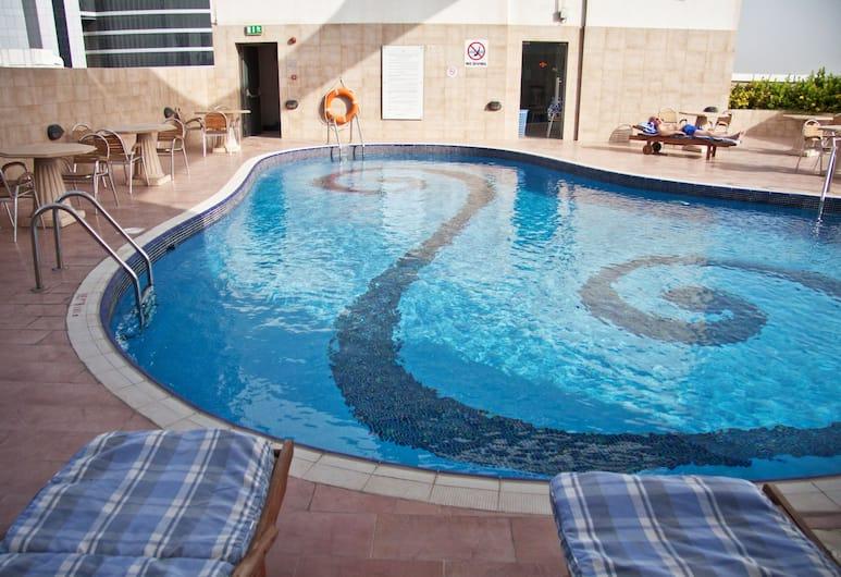 Ramee Rose Hotel, Dubai, Utomhuspool