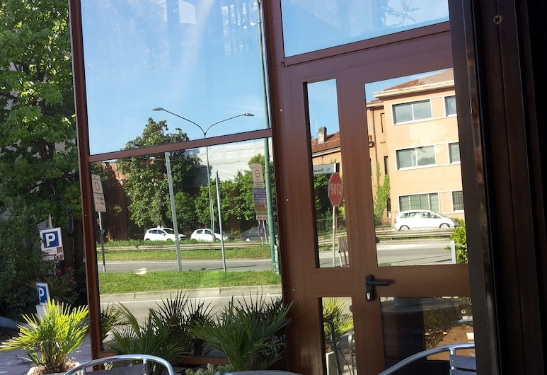 Hotel Autoespresso, Mestre, Teres/Laman Dalam