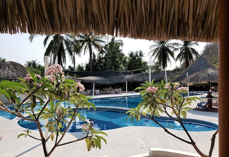 Hotel & Club Campestre Altos Paraiso, Puerto Escondido, Venkovní bazén