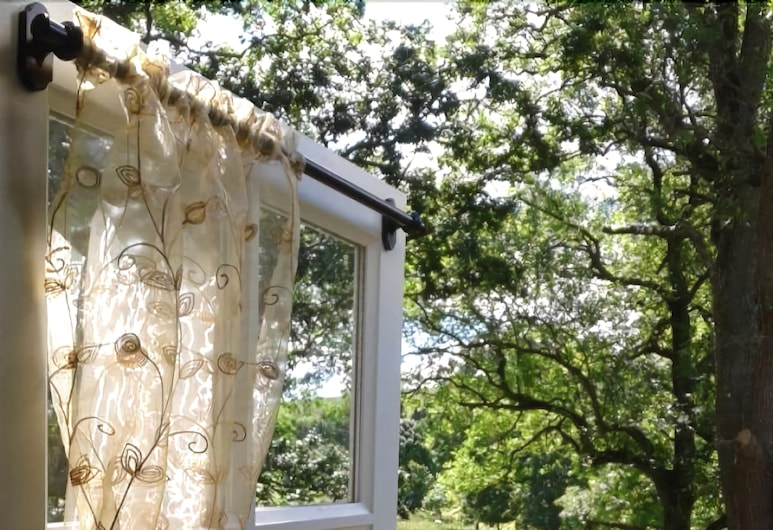 Posh Huts, Hexham, Teres/Laman Dalam