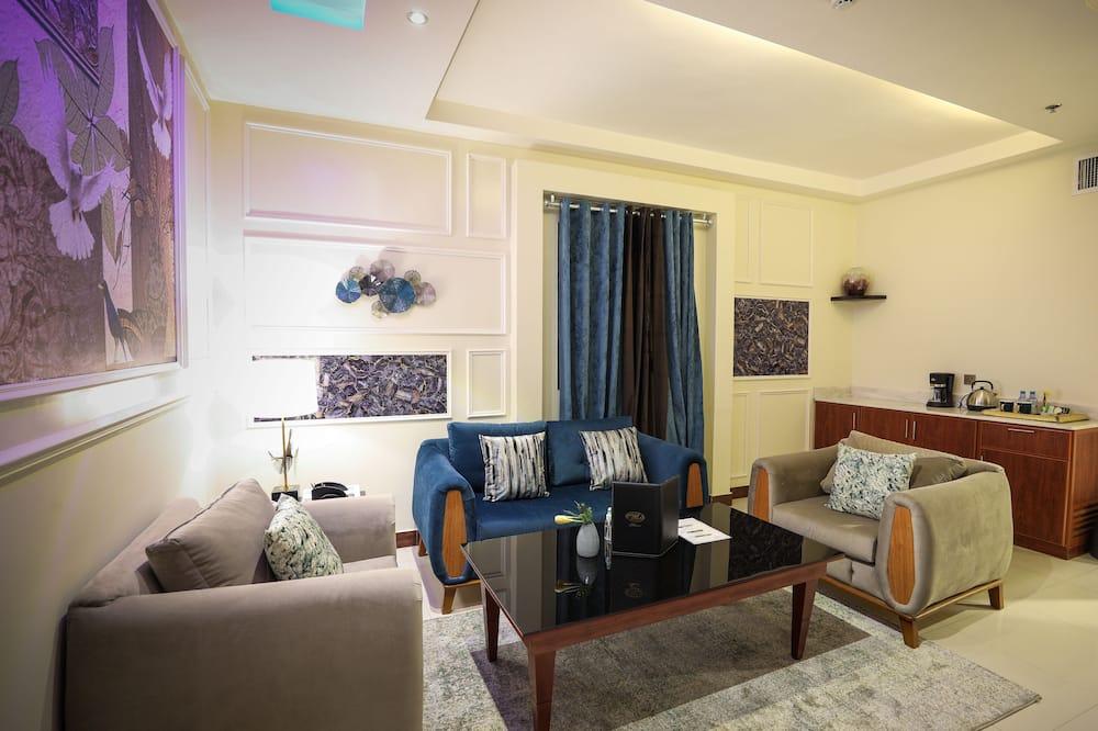 Habitación doble junior - Sala de estar