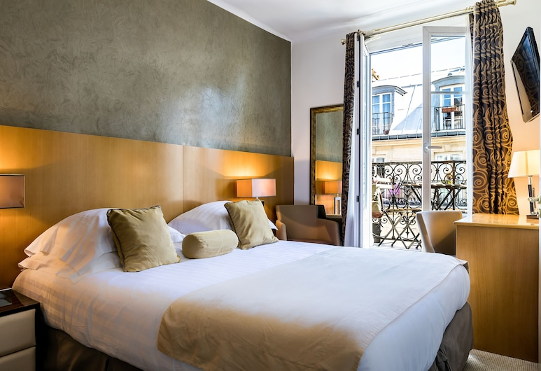 Hotel BoroNali, Paris, Classic Double Room, Balcony, Guest Room