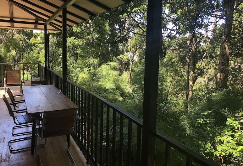 Dantica Cloud Forest Lodge, Copey, Quarto Duplo para 1 Pessoa, Varanda