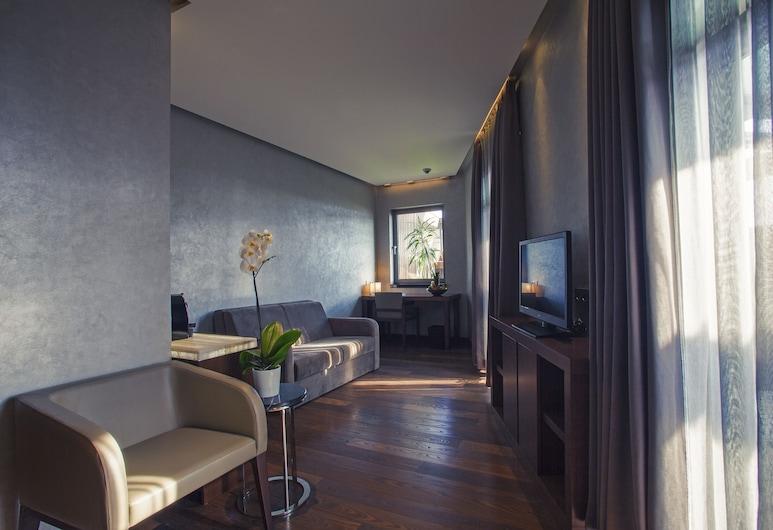 Lasagrada Hotel Istanbul, איסטנבול, חדר אקזקיוטיב זוגי, סלון