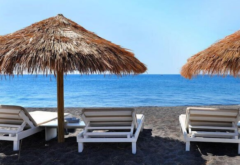 Joy Beach Hotel, Santorini, Beach