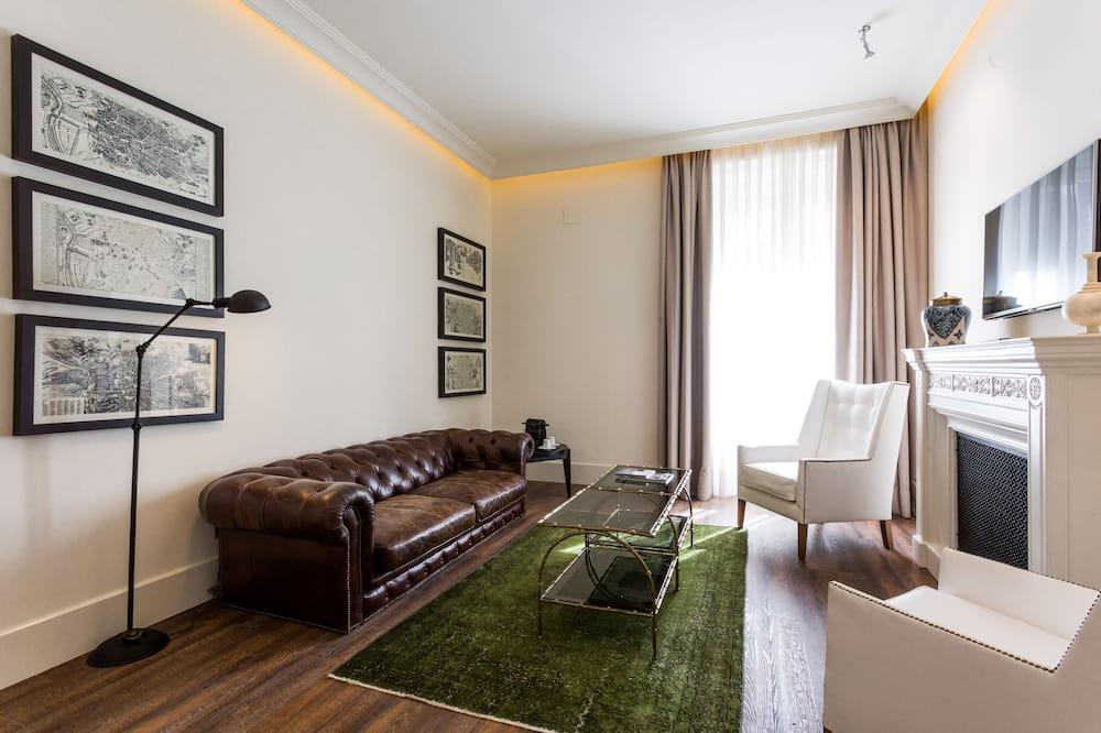 Suite junior (Single Use) - Sala de estar