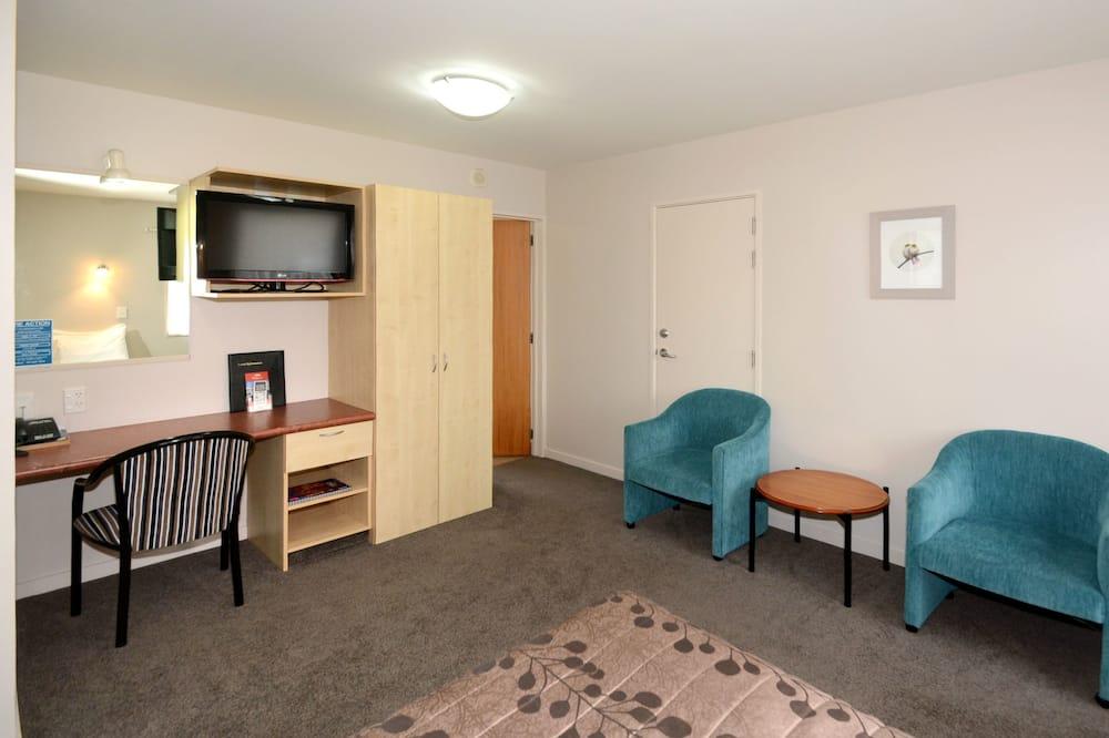 One Bedroom Spa Bath Unit  - Living Area