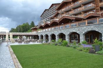 Introduce las fechas para ver los descuentos de hoteles en Nendaz