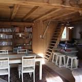 Cottage, 2 phòng ngủ, Hiên - Khu phòng khách