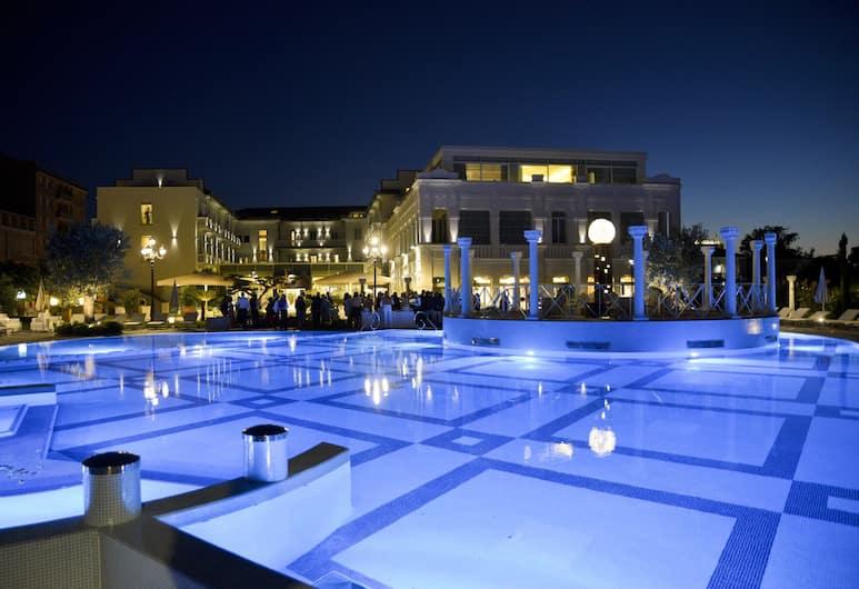 Grand Hotel da Vinci, Cesenatico, Piscine en plein air