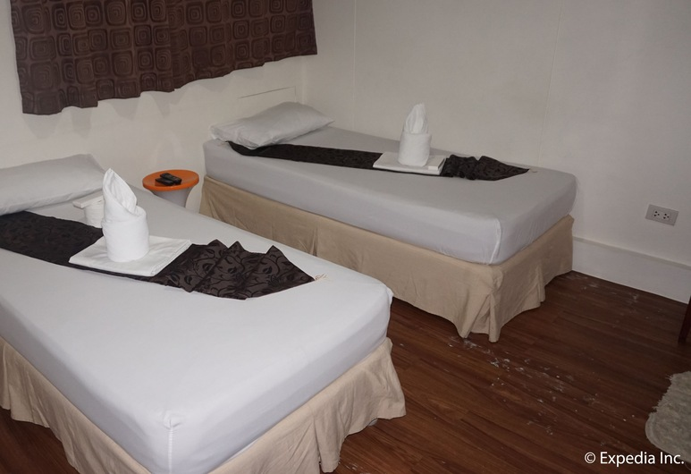 DG Budget Hotel NAIA, Parañaque, Standard Twin Room, 2 Katil Bujang (Single), Shared Bathroom, Bilik Tamu