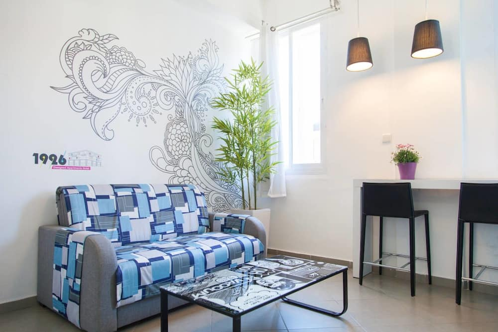 Studio - Double (Stairs Access) - Living Area