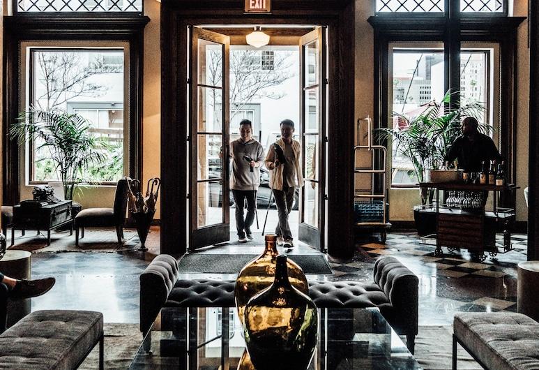 Hotel Normandie, Los Angeles, İç Mekân Girişi
