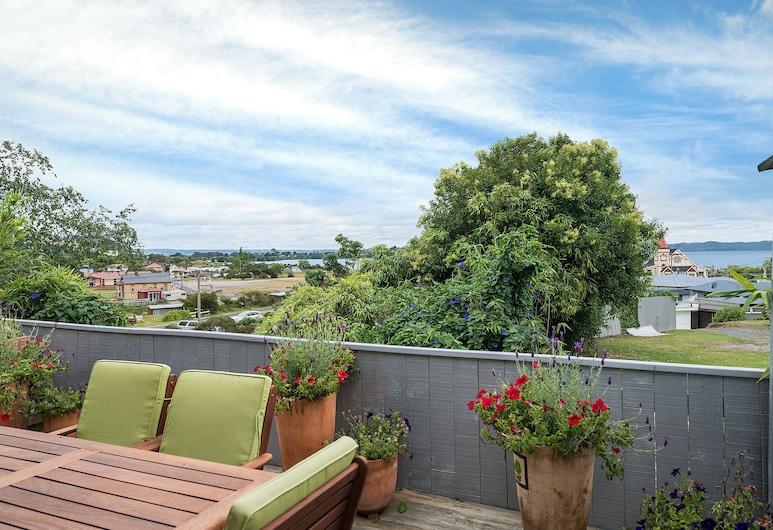 Lakeside City Apartments, Rotorua, Terrace/Patio