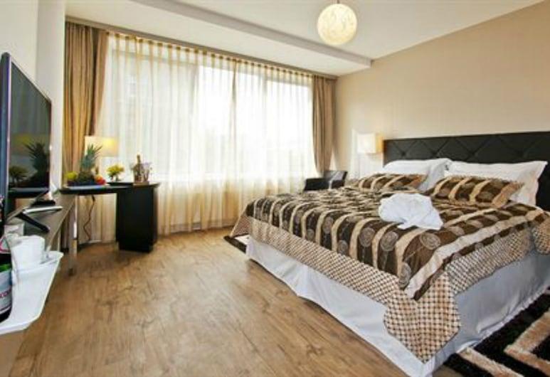 Hotel Vier Jahreszeiten Berlin City, Berliini, Superior - kahden hengen huone, Vierashuone