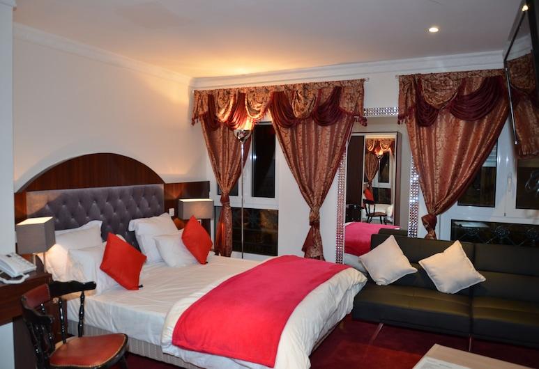 호텔 레지나, 파리, 디럭스 더블룸, 객실