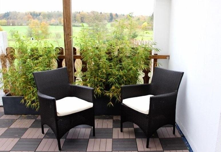 卡特貝格酒店, Ahlefeld-Bistensee, 舒適雙人房, 露台, 陽台