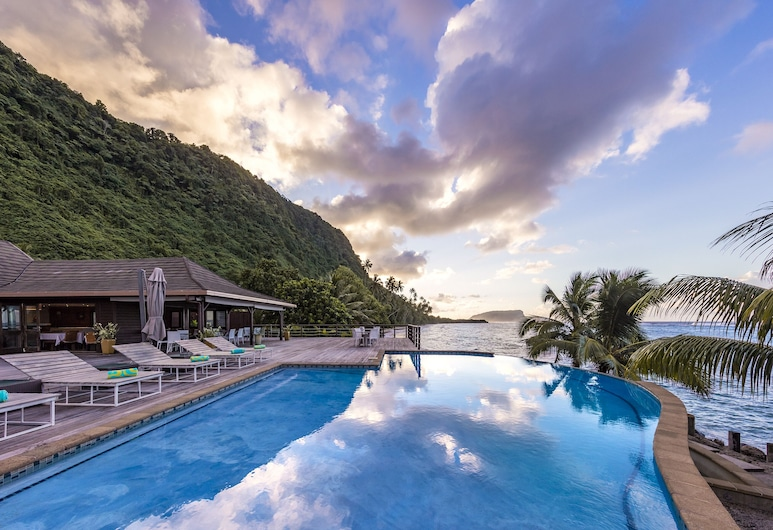 Aga Reef Resort, Lalomanu, Pool