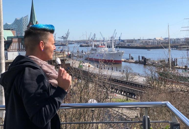 Jugendherberge Hamburg Auf dem Stintfang - Hostel, Αμβούργο, Μπαλκόνι