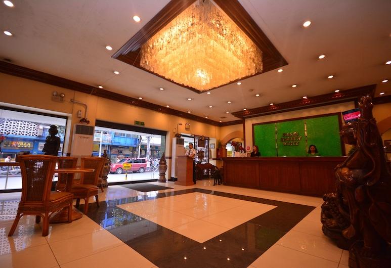OYO 653 Rosas Garden Hotel, Manila, Vidinis įėjimas