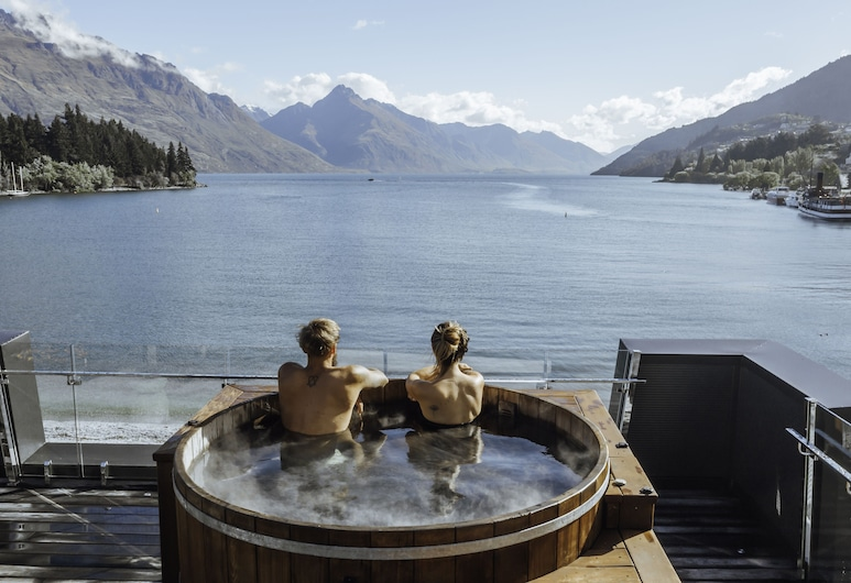 Eichardt's Private Hotel, Queenstown, Presidential Penthouse, 2 Bedrooms, Hot Tub, Lake View, Room