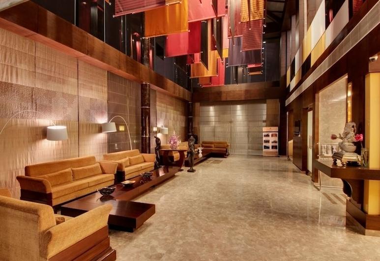 The Golden Palms Hotel & Spa Delhi, New Delhi, Prostor za sjedenje u predvorju